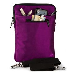 PURPLE Mighty Nylon Jacket Slim Compact Protective Shoulder Bag Sleeve Carrying Case Cover with Accessories Compartment For The Sylvania SDVD7014 Portable 7-Inch Widescreen DVD Player by Van-Goddy. $14.95. Protect your device with our Mighty Jacket Case // Fits very well with your device, feature with two zippered compartment for accessories and even a small notepad. Main compartment is padded with extra cushion for extra protection also featured with a high quality secur...