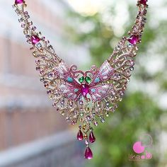 Crush for this amazing butterfly necklace by Wendy Yue Jewellery seen…