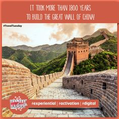 """#TravelTuesday """"Nobody can be a true hero unless he has been on the Great Wall"""". A popular saying that clearly demonstrates the importance of this unique & ancient monument. #GreatWallOfChina is the longest wall in the #world & is one of the iconic symbols in #China. #WOWEvents #7WondersOfTheWorld"""
