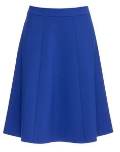 Kobaltowa, rozkloszowana spódnica, przed kolano. Prosta. Skirt Fashion, Skater Skirt, Skirts, Skater Skirts, Skirt, Gowns, Skirt Outfits, Fashion Skirts
