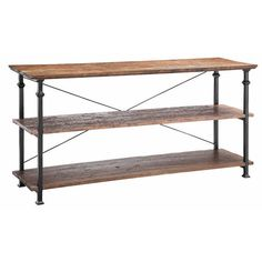 The Poplar Estates Console will be a beautiful addition to any room in your home.