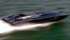 ZR48 MTI Corvette Speedboat