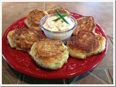 From Greg's Kitchen: Fried Green Tomato Fritters