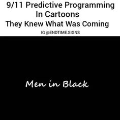 @Regrann from @crackedrosecoloredglasses_us -  #Repost @endtime.signs  YOU CAN'T MAKE THIS STUFF UP! ___ There are hundred's of forms of predictive programming hinting and leading up to the September 11th 2001 attacks especially in cartoons going all the way back to the 1940's. ___ The Cartoons predicting 9/11 in this clip includes: ___ Men in Black (1997). __ Looney Tunes(1949). __ Iron Man (1994) - This episode predicted both events the twin towers and also the Pentagon being destroyed…