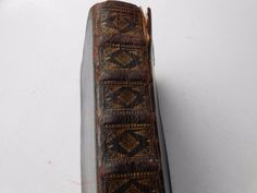 ANTIQUE 18TH 19TH CENTURY LEATHER HANDWRITTEN GERMAN BOOK MANUSCRIPT - from Germany