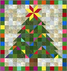 Playful Garland Quilt Pattern SP-115 (beginner, wall hanging). What a cute wall hanging. I think I would change up the colors a bit though.