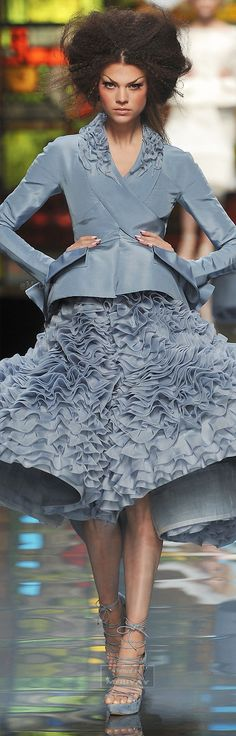 ♔Christian Dior♔Haute Couture Spring 2009 designed by John Galliano