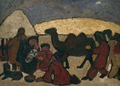 Paula Modersohn-Becker - German Expressionism - In the desert - Anbetung der Könige