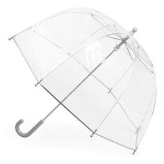Totes Clear Bubble Umbrella for KIDS. Beautiful clear bubble umbrella with matching trim. Umbrella opens to a generous arc bubble. Colors CLEAR Blue or Clear PINK or CLEAR CLEAR (All colors are transparent). Totes Umbrella, Bubble Umbrella, Folding Umbrella, Kids Bubbles, Kids Umbrellas, Shopping Totes, Purse Hook, Rain Suit, Rain Gear