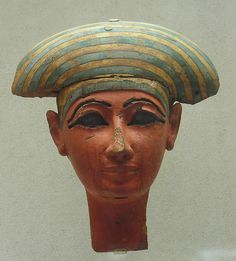 Mask of Coffin of Pakherenkhonsu | Late Period, Kushite Dynasty 25 Date:ca. 712–664 B.C. | The Met