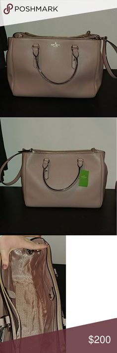 Kate Spade Leighann Mulberry Street Porcini LOVE this bag. Just not my style!  Make me an offer 🤗🤗 kate spade Bags Totes