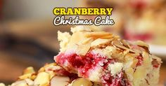 Cranberry Christmas Cake has only a handful of ingredients and comes together in a snap! A moist butter cake bursting with flavor it ...