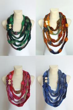 Hey, I found this really awesome Etsy listing at https://www.etsy.com/listing/222706633/knit-necklace-scarf-knitted-infinity