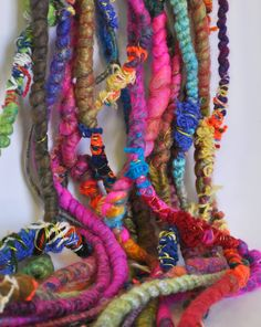 SCRAPALICIOUS  Hardcore Art Yarn by Loop by loop on Etsy,