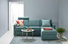 BEDinside sovesofa med sjeselong | Møbelringen Loft, Couch, Furniture, Pretty, Home Decor, Modern, Settee, Decoration Home, Sofa