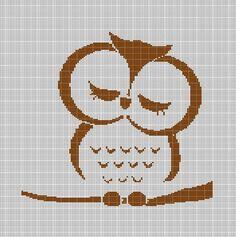 SLEEPY+OWL+CROCHET+AFGHAN+PATTERN+GRAPH