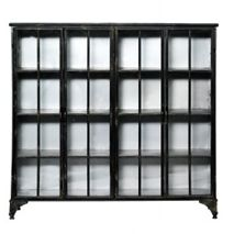 Glass cabinet for my living room. Comes in white as well. House Doctor, Dining Room Hutch, Door Displays, Glass Cabinet Doors, Glass Doors, Cabinet Furniture, My Living Room, Luxury Living, Discount Designer