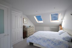 Loft conversion double bedroom