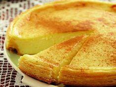 Melktert Custard Recipes, Tart Recipes, Cooking Recipes, No Cook Desserts, Sweet Desserts, Dessert Recipes, Melktert, South African Recipes, Tasty