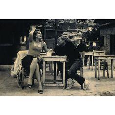 "Melina Mercouri & Jules Dassin in ""Never on Sunday"" (Ποτέ την Κυριακή) 1960"