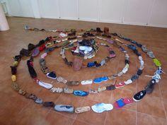 Instalación zapatos                                                                                                                                                     Más