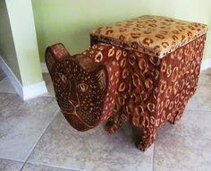 Cheetah Bench