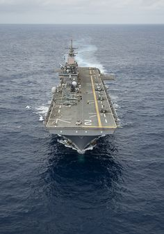 USS Essex transits through the Pacific Ocean. by Official U.S. Navy Imagery, via Flickr