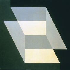 Indicated Solids - Josef Albers, 1949