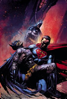 #Superman #Batman #Fan #Art. (Superman/Batman: The brave and the bold) By: Nic Klein. ÅWESOMENESS!!!™ ÅÅÅ+