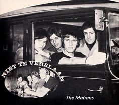 The Motions 03-1967 - 11-1967: Rudy Bennet, Henk Smitskamp, Sieb Warner en Gerard Romeyn (vervanger Robbie van Leeuwen)