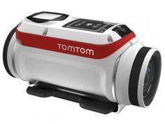 Câmera Digital Esportiva Tomtom Bandit Action Cam - 16MP Modo GPS com Capa à Prova de Respingos