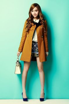 #Jessica's #photoshoot for SOUP's advertisement campaign