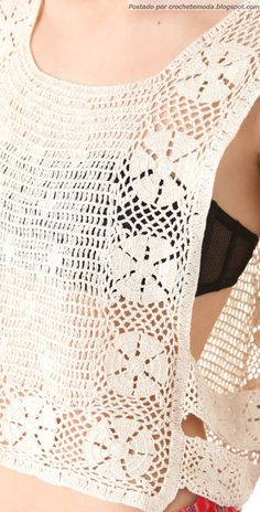 Crochetemoda: Top Crochet