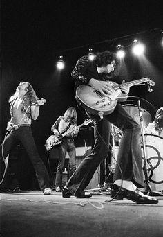 Led Zeppelin, 1972 by Barrie Wentzell