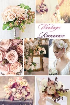 Vintage wedding flowers - This is my wedding to a T! Vintage Wedding Flowers, Vintage Wedding Theme, Wedding Themes, Floral Wedding, Wedding Bouquets, Our Wedding, Dream Wedding, Wedding Stuff, Vintage Weddings