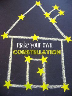 """Project: Make Your Own Constellation Craft Book: """"How to Catch a Star"""" by Oliver Jeffers"""