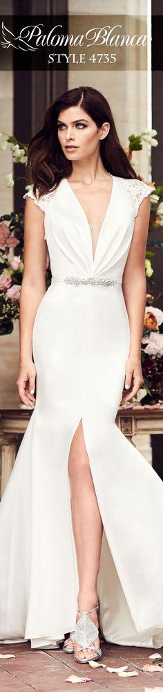 60 Best Paloma Blanca Wedding Dresses Images Paloma Blanca