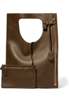 Tom Ford | Alix small textured-leather tote | NET-A-PORTER.COM