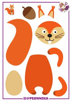 Animal Activities For Kids, Preschool Art Activities, Animal Crafts For Kids, Preschool Activities, Art For Kids, Pre K Pumpkin Crafts, Autumn Crafts, Cardboard Crafts Kids, Paper Crafts