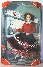 Vintage Coca Cola Doll