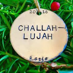 Items Similar To Challahlujah Challah Lujah Funny Hanukkah Decoration Decor Gift For Jewish Friend Boyfriend On Etsy