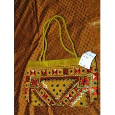 Womens Handbag Gold Banjara Mirrors Boho Purse (Apparel)  http://www.amazon.com/dp/B005DPUWAK/?tag=worldshouts-20  B005DPUWAK