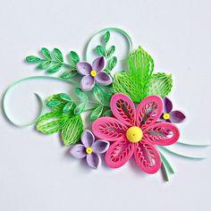 Quilled flowers are always a good idea! #quilling #flowers #papercraft #hobby #crafting #paperflorals #florals #artist #paperartist #paperstrips #quilled #paperquilling #filigrana #paperfiligree #rękodzieło #polskierękodzieło #papierowecuda #квіллінг #квиллинг