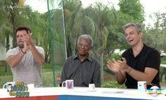 """Milton Gonçalves se emocionou com homenagem, mas não quis ser chamado de """"senhor"""" (Reprodução/ Globo)"""