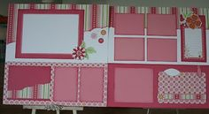 Hello Again, I also finished my SOPHIA scrapbook kits. The kit comes with all the materials to complete Six scrapbook pages. Scrapbook Bebe, Baby Girl Scrapbook, Baby Scrapbook Pages, Wedding Scrapbook, Scrapbook Cards, Christmas Scrapbook, Scrapbook Layout Sketches, Scrapbook Templates, Scrapbooking Layouts