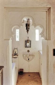 Beautiful White Decor African Interior Style