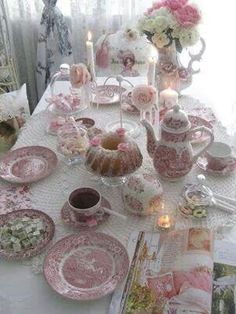 Beautiful table for Morning or Afternoon Tea