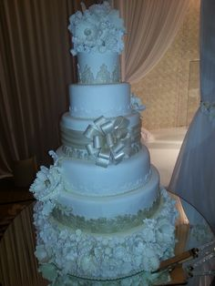 elegant 6 tier all edible