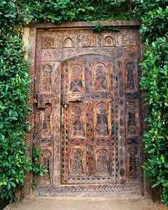 African Door by William Dey