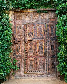 African Door by William Dey